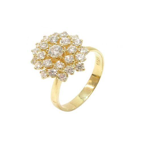 9a330de7756 Chuveiro Diamantes. Anel Chuveiro Diamantes Ouro ...